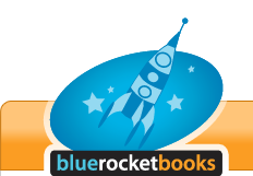 Blue Rocket Books Logo