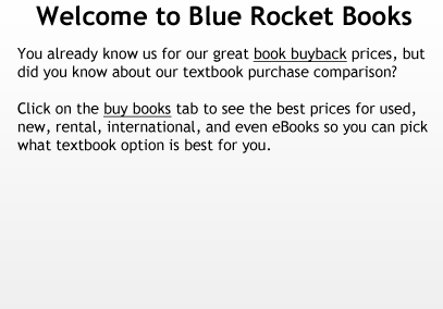 Welcome to Blue Rocket Books!